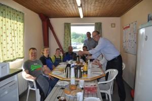Team Svenstrup fejrer sejren