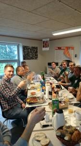 Team Nordahl fejrer succesen